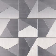 Inexpensive Metal Peel and Stick Wall Tile SOT106