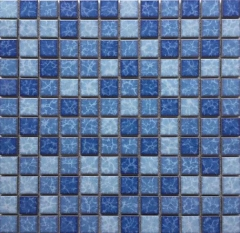 Blue Swimming Pool Porcelain Tile CPT123