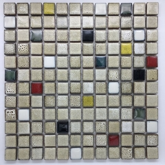 Affordable 12x12 Fancy Italian Glazed Porcelain Square Tiles for Kitchen and Bathroom CPT124