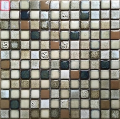 12x12 Premium Italian Porcelain Mosaic Tile in Square for Backsplash Wall  CPT127